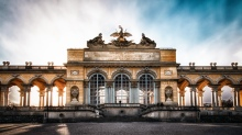 Gloriette wallpaper