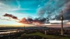 """Wallpaper: """"Sunset on Vienna"""""""