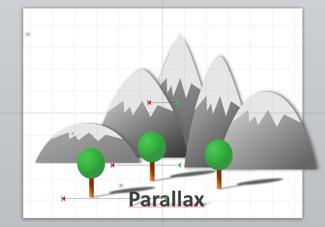 Parallax effect in powerpoint