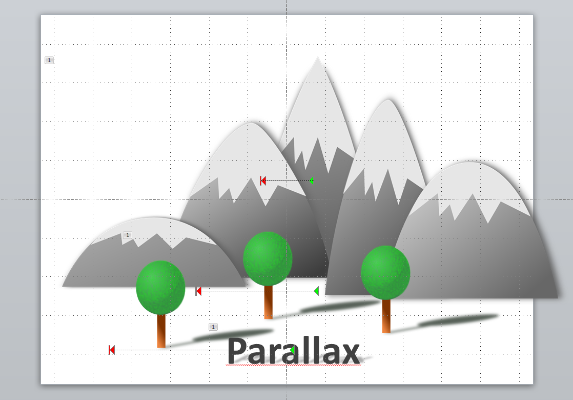Parallax effect in powerpoint