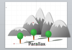 How to recreate the parallax effect in Powerpoint