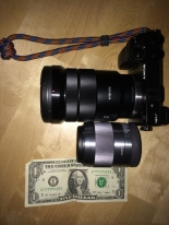 The 18-105 f4, the 50 f1.8 and Mr Washington