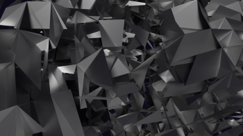 abstract grey shards
